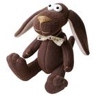 Набор текстильная игрушка Ваниль DG001 «Dog's Story. Собачка с бантиком» 25 см