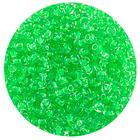Астра бисер (уп. 20 г) №0135 зеленый с цветным центром