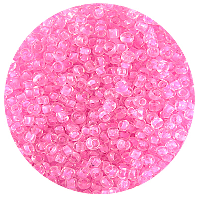 Астра бисер (уп. 20 г) №0137 св.-розовый с цветным центром в интернет-магазине Швейпрофи.рф