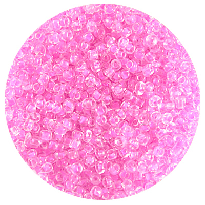 Астра бисер (уп. 20 г) №0139 розовый с цветным центром в интернет-магазине Швейпрофи.рф