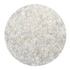 Астра бисер (уп. 20 г) №0161 белый прозрачный радужный
