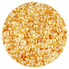 Астра бисер (уп. 20 г) №0162 золотистый прозрачный радужный