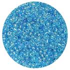 Астра бисер (уп. 20 г) №0163 голубой прозрачный радужный