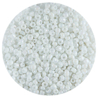 Астра бисер (уп. 20 г) №0401 белый радужный