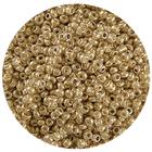 Астра бисер (уп. 20 г) №1106 золотистый с серебр. центром