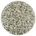 Астра бисер (уп. 20 г) №1109 серый с серебр. центром