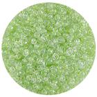 Астра бисер (уп. 20 г) №2207 зеленый с цветным центром