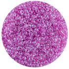Астра бисер (уп. 20 г) №2209 фиолетовый с цветным центром