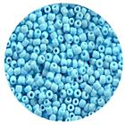 Астра бисер (уп. 20 г) М43 голубой матовый