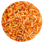 Астра стеклярус (уп. 20 г) №0029С оранжевый