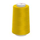 Нитки п/э №40/2  Мастер  №384 ярко-желтый