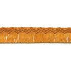 Бахрома 02 (уп. 16 м) №189 т. золот.