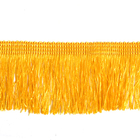 Бахрома 0390-0310  63 мм (уп. 25 м) 001 золотистый