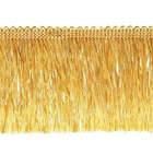 Бахрома 0390-0310  63 мм (уп. 25 м) 848 золотистый