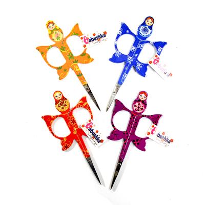 Ножницы HEMLINE B4816.3 для вышивания «Матрешка» в интернет-магазине Швейпрофи.рф