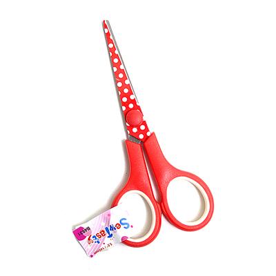 Ножницы HEMLINE B4831 для шитья и хобби «Горошек» 140 мм (уп. 24 шт.) в интернет-магазине Швейпрофи.рф
