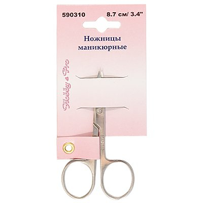 Ножницы маникюрные 8.7см НР 590310 в интернет-магазине Швейпрофи.рф