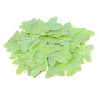 Пайетки «фигурки» Астра бабочка 23*18 мм (уп. 10 г) 85 салатовый