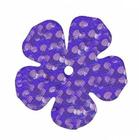 Пайетки «фигурки» Астра цветок 16 мм (уп. 10 г) 50126 фиалка
