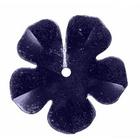 Пайетки «фигурки» Астра цветок 16 мм (уп. 10 г) 748 т.-сер.