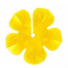Пайетки «фигурки» Астра цветок 16 мм (уп. 10 г) А-1 золото