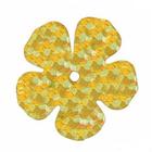 Пайетки «фигурки» Астра цветок 16 мм (уп. 10 г) А-20 золото