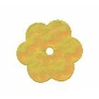 Пайетки «фигурки» Астра цветочки 10 мм (уп. 10 г) 91 желтый