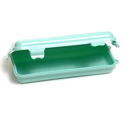 Пенал для вязальных крючков (пластик) 17,5*7,5*3,5 см в интернет-магазине Швейпрофи.рф