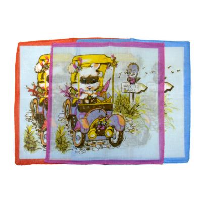 Платок носовой детский 45453КС, 102104 (уп. 6 шт.) в ассортименте в интернет-магазине Швейпрофи.рф