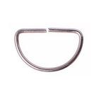 Полукольцо 40 мм (уп. 500 шт.) никель
