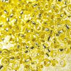 Бисер Preciosa Чехия (уп. 10 г) 08283 св.-желт с серебр. центром