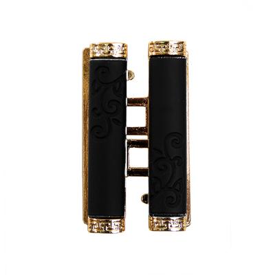 Пряжка K.GP-12 застёжка шир. 50 мм чёрный/золото в интернет-магазине Швейпрофи.рф