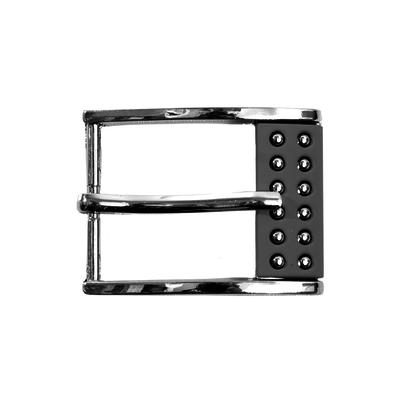 Пряжка K.GP-15  шир. 35 мм серебро в интернет-магазине Швейпрофи.рф
