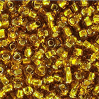 Бисер Preciosa Чехия (уп. 10 г) 17070 золотистый с серебр. центром
