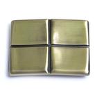 Пряжка Микрон GB1343 шир. 40 мм 66*50 мм 12 бронза