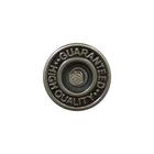 Пуговицы джинс. «Guaranted» 14 мм лом./нож. 3039 т. никель