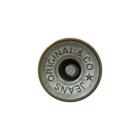 Пуговицы джинс. «JEANS» 17 мм 3343 вогнут. бел./ник.