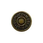 Пуговицы джинс. д.17 мм World бронза П 3101