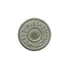 Пуговицы джинс. д.17 мм World серебро П 3104