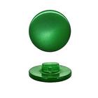 Пуговицы карамель д.11 007 зеленый изумруд