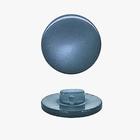 Пуговицы карамель д.11 119 серо-синий