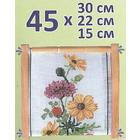 Пяльцы BOS-045 рамка гобелен. регулир. 45*30/22/15 см (3 размера)