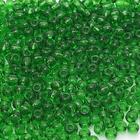 Бисер Preciosa Чехия (уп. 10 г) 50120 зеленый прозрачный