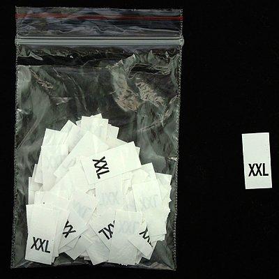 Размерники в пакетике (уп. 1000 шт.) «XXL» белый в интернет-магазине Швейпрофи.рф