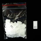 Размерники в пакетике (уп. 1000 шт.) №46 белый