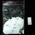 Размерники в пакетике (уп. 1000 шт.) №54 белый