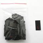 Размерники в пакетике (уп. 200 шт.) «L» красн. на черн.