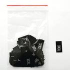 Размерники в пакетике (уп. 200 шт.) «XXXL» черный
