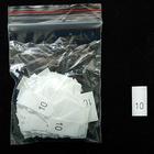 Размерники в пакетике (уп. 200 шт.) №10 белый
