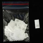 Размерники в пакетике (уп. 200 шт.) №30 белый